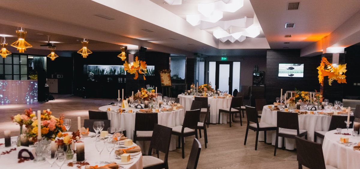 Fine dining venue at TribeHouse for members and groups