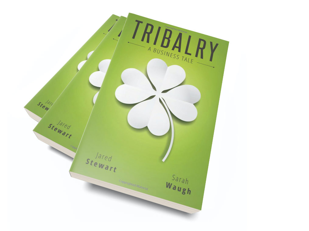 Tribalry is an inspirational story of a man with a struggling business and mentors who help change his mindset